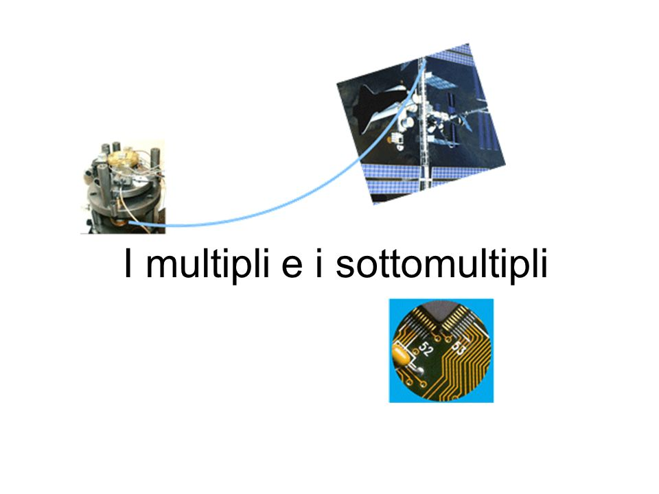 I multipli e i sottomultipli