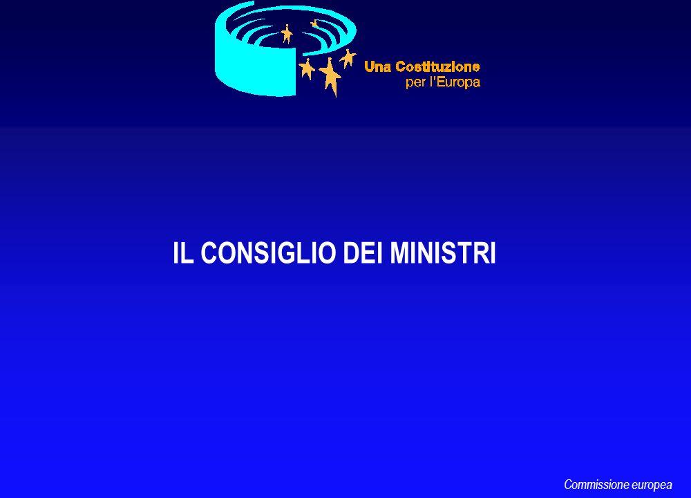 IL CONSIGLIO DEI MINISTRI Commissione europea