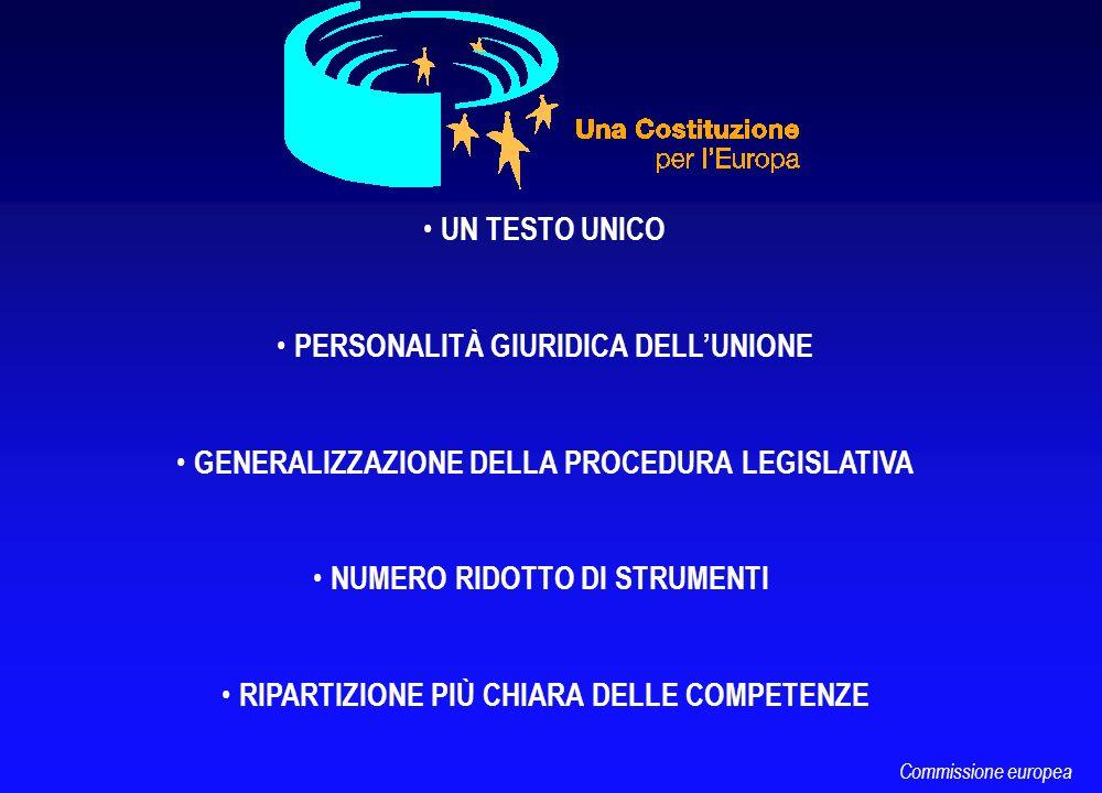 LA CARTA DEI DIRITTI FONDAMENTALI NEL TRATTATO SEDUTE PUBBLICHE DEL CONSIGLIO QUANDO DELIBERA IN QUALITÀ DI LEGISLATORE RAFFORZAMENTO DEL RUOLO DEI PARLAMENTI NAZIONALI (Controllo del principio di sussidiarietà) CONSIDERAZIONE DELLA SOCIETÀ CIVILE Commissione europea
