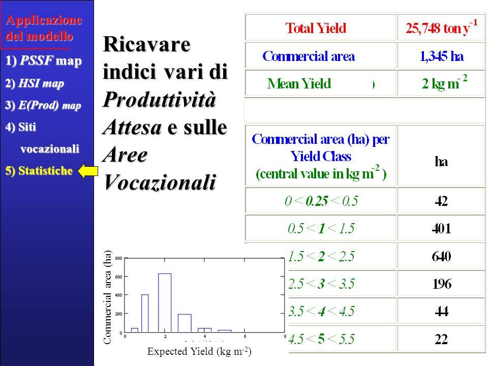 Accuratezza del Modello HSI Sito12345678910 Osservato [kg m -2 ] 1.44.1 1.42.84.12.81.4 4.1 Atteso [kg m -2 ] 2.84.94.11.40.72.82.71.4 4.1 +20% 50-150% Stima accurata