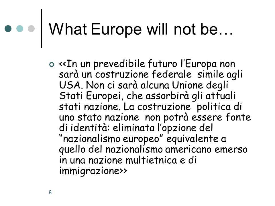 9 Ma si può lidentità europea ridursi a questo?