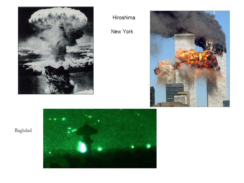 Hiroshima New York Baghdad