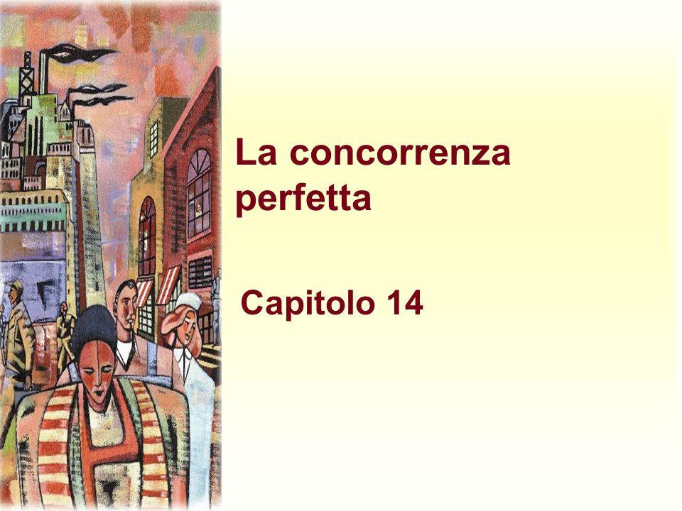 La concorrenza perfetta Capitolo 14