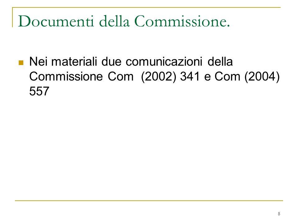 19 La contrattazione allombra della legge.