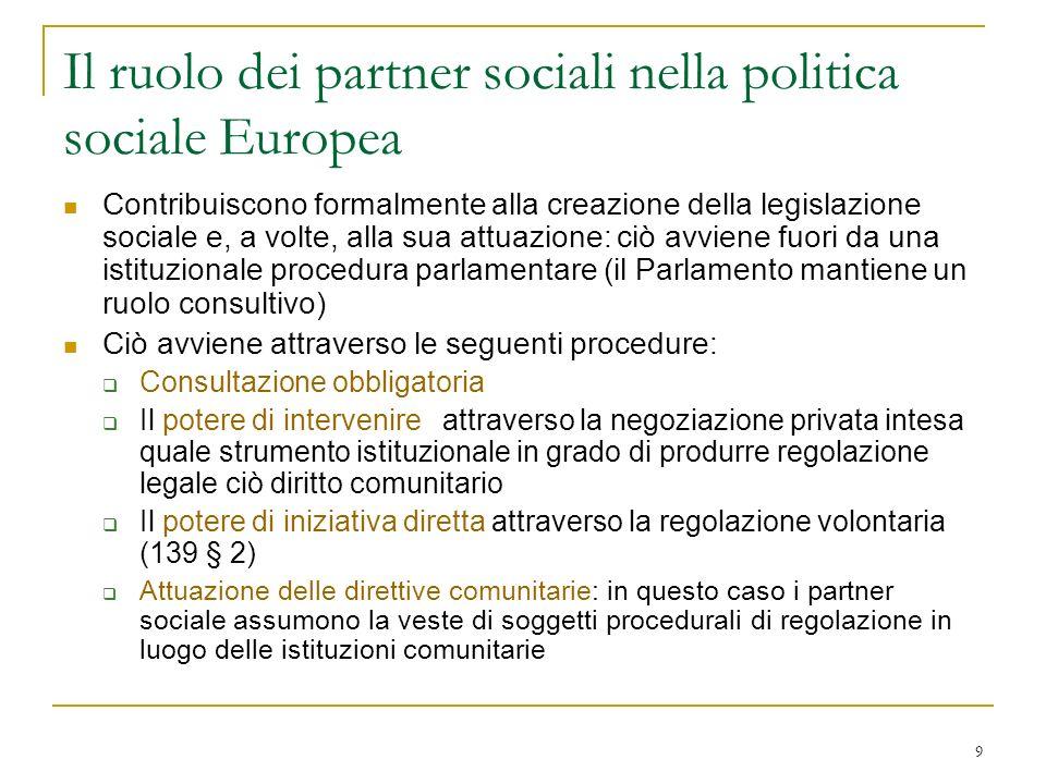 40 Risultati e attività principali del dialogo sociale a livello settoriale nel 2002 Agricoltura Accordo europeo sulla formazione professionale.