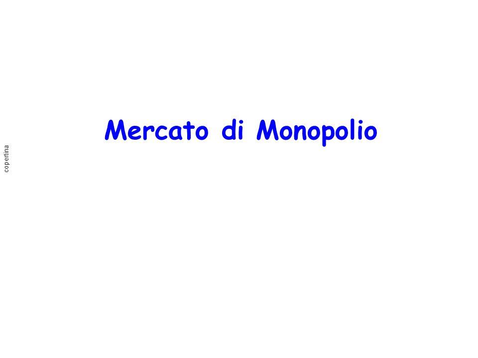 Mercato di Monopolio copertina