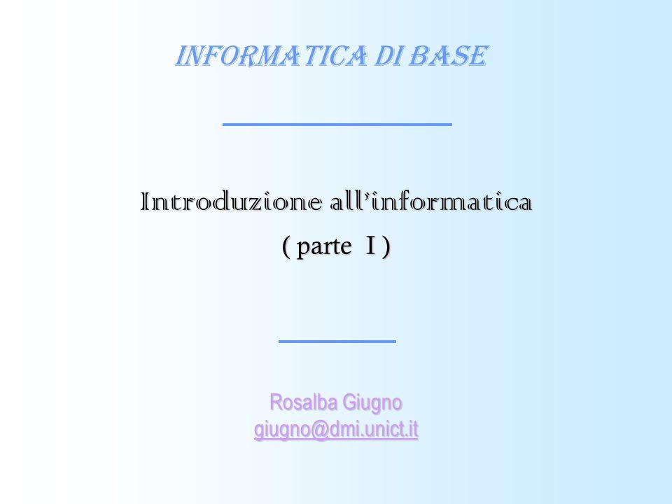 84 Memoria secondaria La memoria secondaria (o di massa) è utilizzata per memorizzare in modo permanente le informazioni.