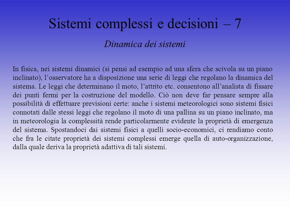 Strategia – 3 Management strategico – anni 70 -80