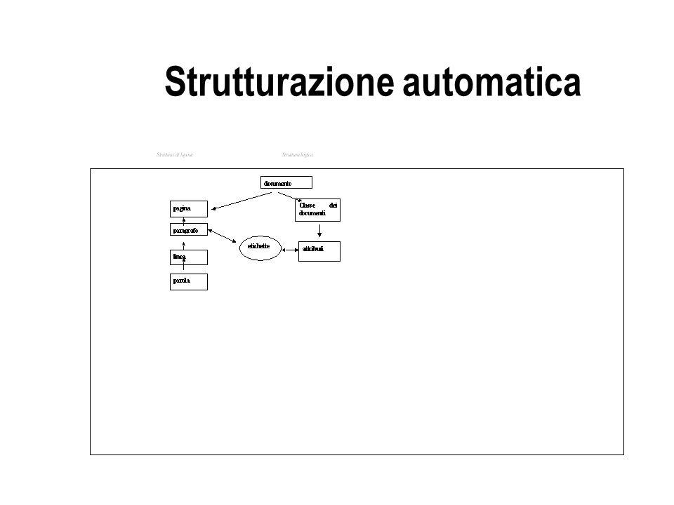 Strutturazione automatica