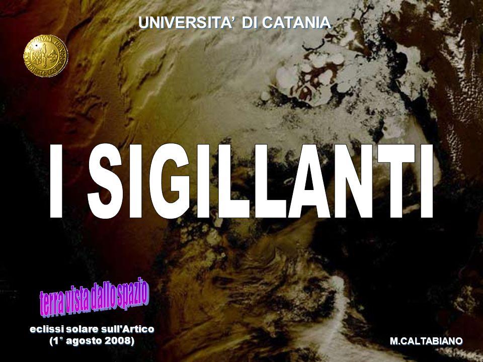 eclissi solare sull'Artico (1° agosto 2008) (1° agosto 2008) UNIVERSITA DI CATANIA M.CALTABIANO