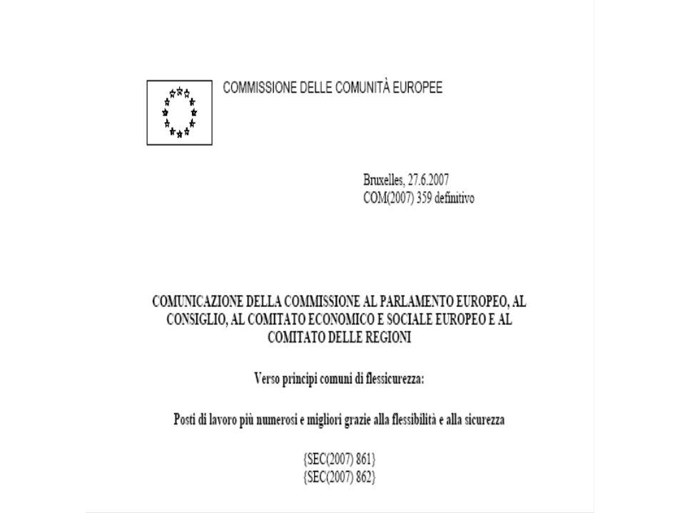 LEuropa sociale oggi 1. Il Libro Verde della Commissione