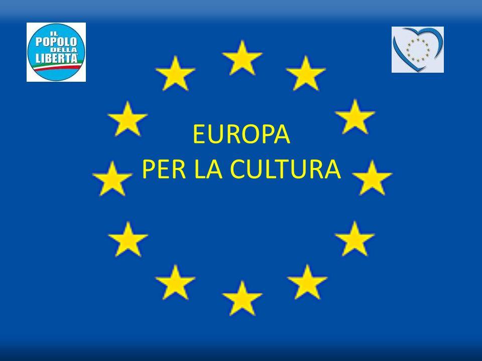 Ho voluto realizzare questa guidaEuropa per la Cultura,per informare gli attori culturali che operano nel nostro Paese, delle opportunità esistenti a livello europeo e delle modalità da seguire quale guida alla realizzazione dei propri progetti.