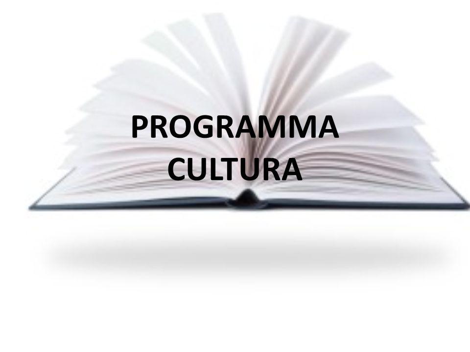 PROGRAMMA CULTURA