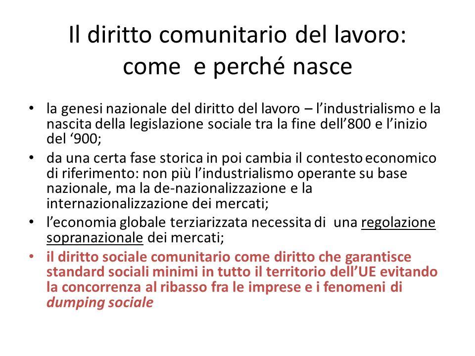 Il consolidamento della sovranazionalità normativa ad opera della CGCE e della Corte cost.