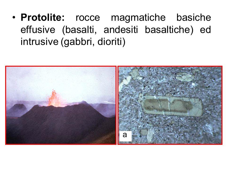 Metamorfismo di rocce magmatiche basiche in facies granulitica GRANULITI BASICHE Pirosseni + plagioclasi + quarzo + granati