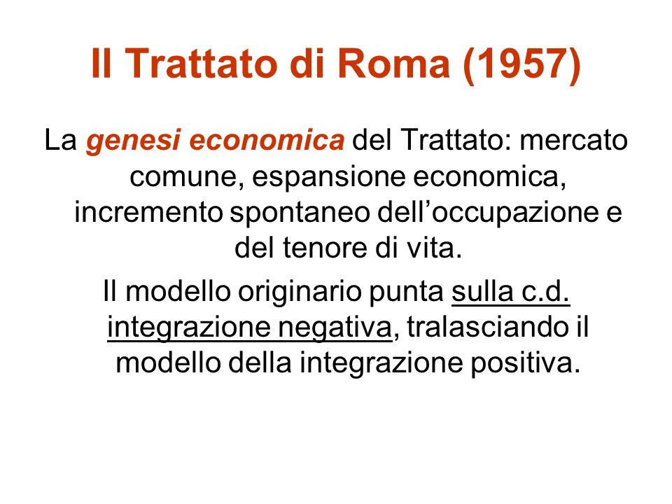 Il principio di sussidiarietà (attuali art.5 TCE; art.
