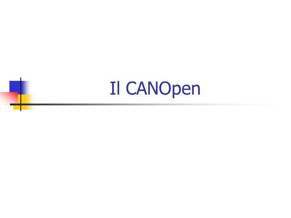 Il CANOpen prevede diversi modi per trasferire dati in tempo reale.