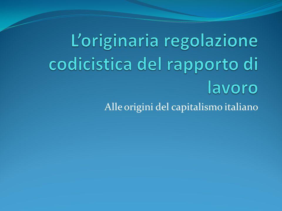 Alle origini del capitalismo italiano