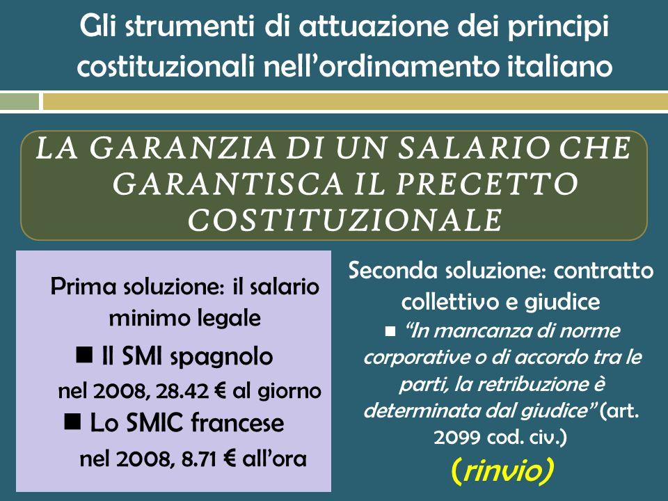 Una sentenza singolare (Cass. civ., 5 marzo 1986, n. 1444) Il principio della parità salariale a parità di lavoro, enunciato nell'art. 37 cost. esclus