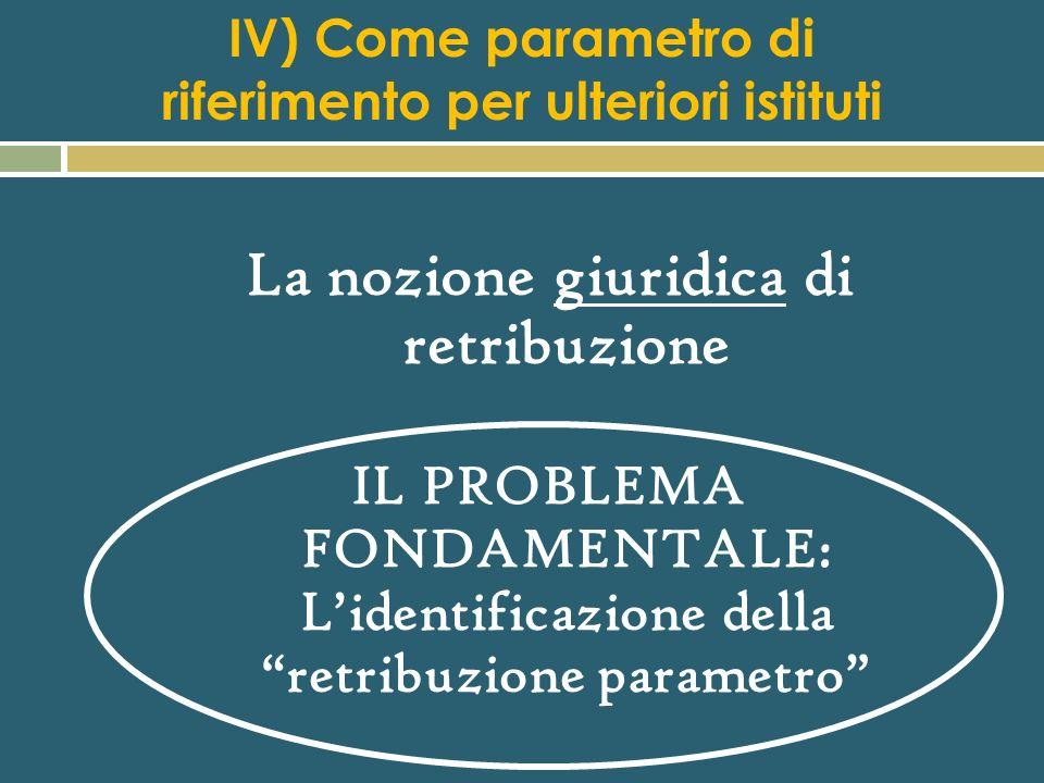 Retribuzione diretta ed indiretta (o differita) La retribuzione diretta comprende: Il minimo tabellare La contingenza o scala mobile (congelata al 199