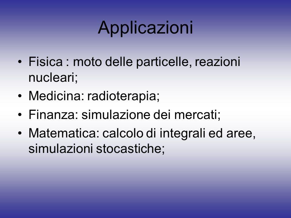 Integrazione Numerica Si cerca di approssimare lintegrale con una procedura numerica come: approssimazione rettangolare; regola del trapezio; formula di Simpson;