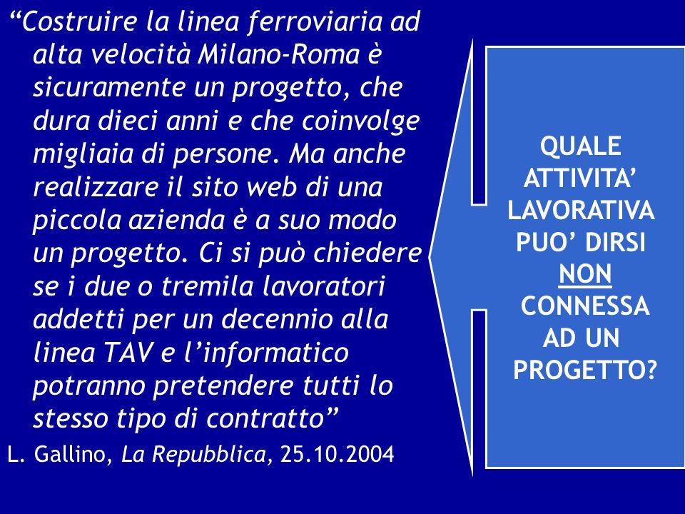 Costruire la linea ferroviaria ad alta velocità Milano-Roma è sicuramente un progetto, che dura dieci anni e che coinvolge migliaia di persone. Ma anc
