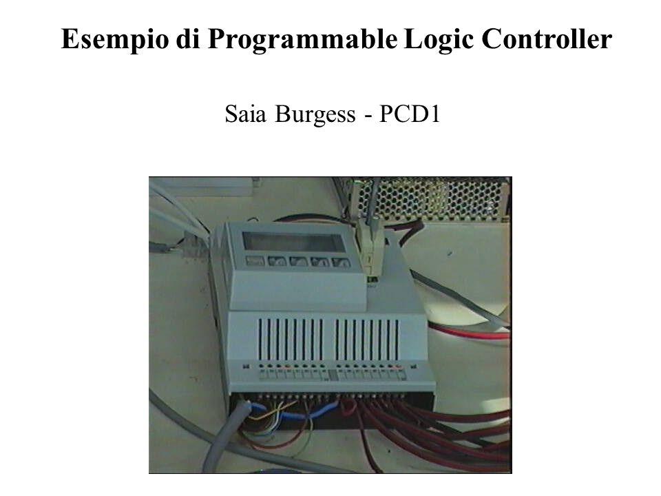 Saia Burgess - PCD1 Esempio di Programmable Logic Controller