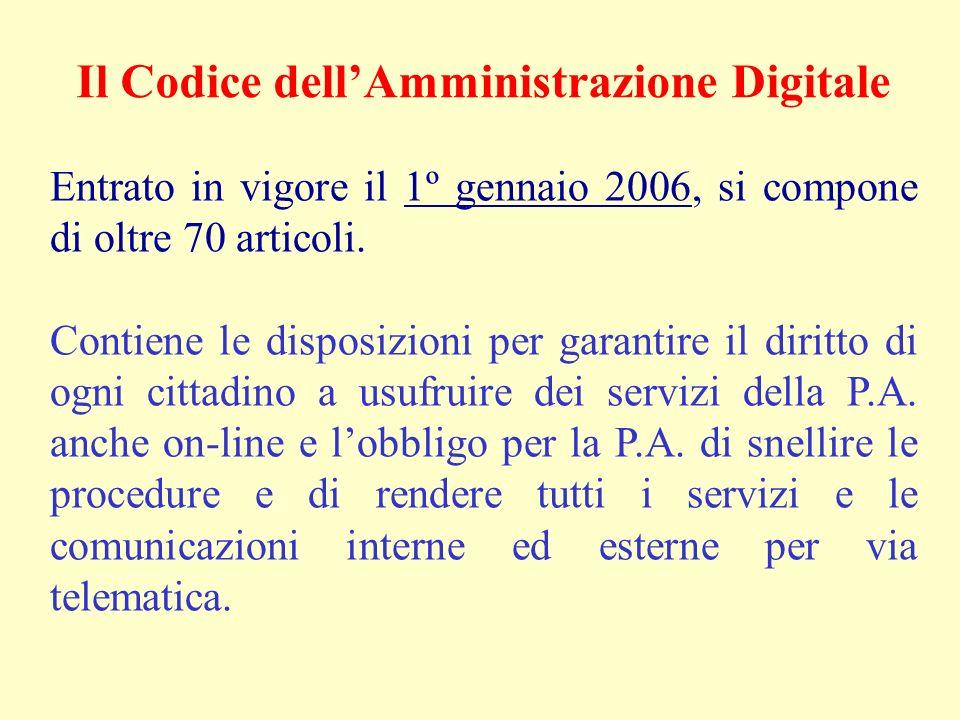 Entrato in vigore il 1º gennaio 2006, si compone di oltre 70 articoli. Contiene le disposizioni per garantire il diritto di ogni cittadino a usufruire