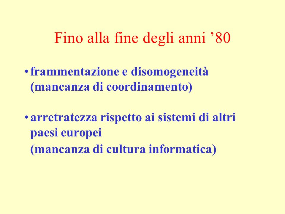 Documenti informatici e firme elettroniche Art.20 (Documento informatico) 1.