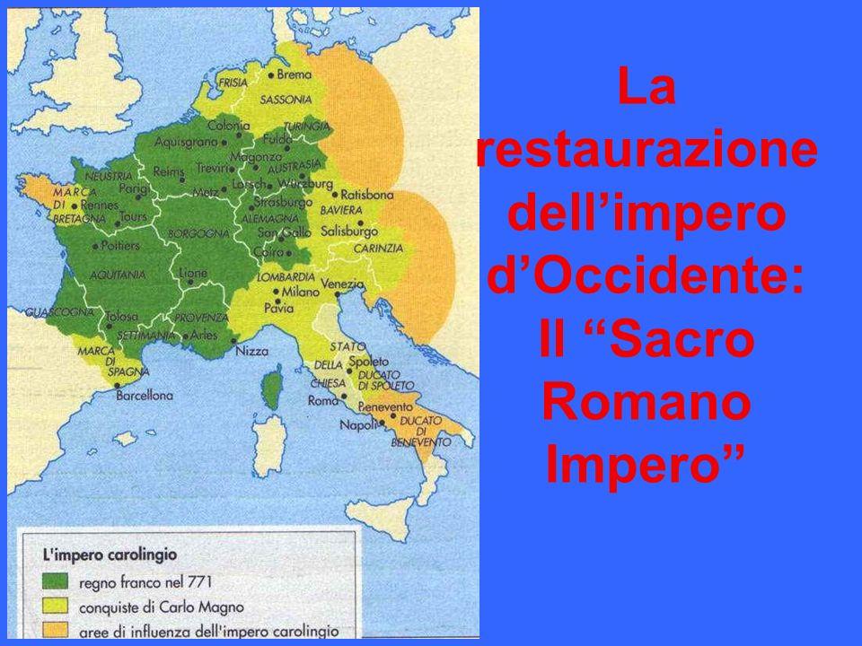 La restaurazione dellimpero dOccidente: Il Sacro Romano Impero