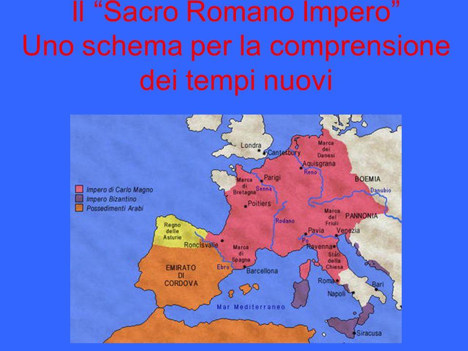 Il Sacro Romano Impero Uno schema per la comprensione dei tempi nuovi
