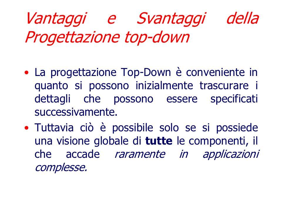 Riassunto strategia top-down