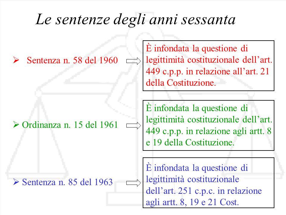 Sentenza n.117 del 1979 Art. 251c.p.c.