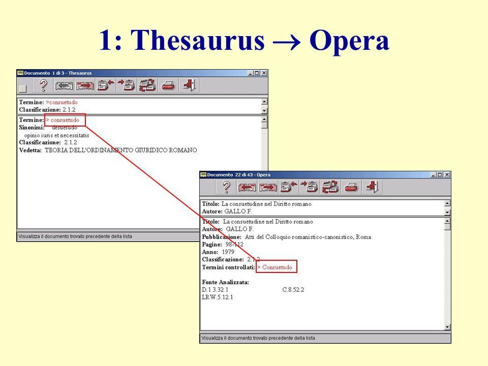 1: Thesaurus Opera