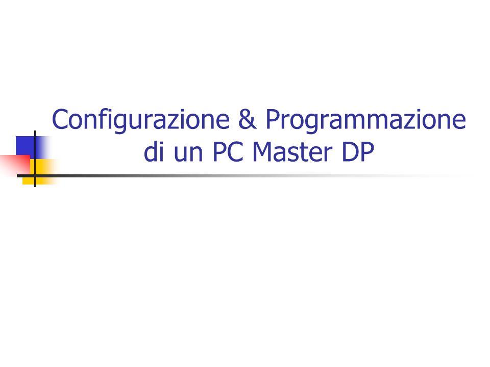 Profibus DP Master PC connesso a Profibus DP Scheda di interfaccia Profibus DP Applicom PC1500PFB