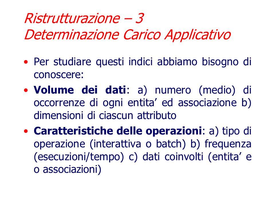 Analisi delle ridondanze: Numero di Partecipanti in Edizione Corso puo essere derivato dallassociazione Partecipazione Attuale.