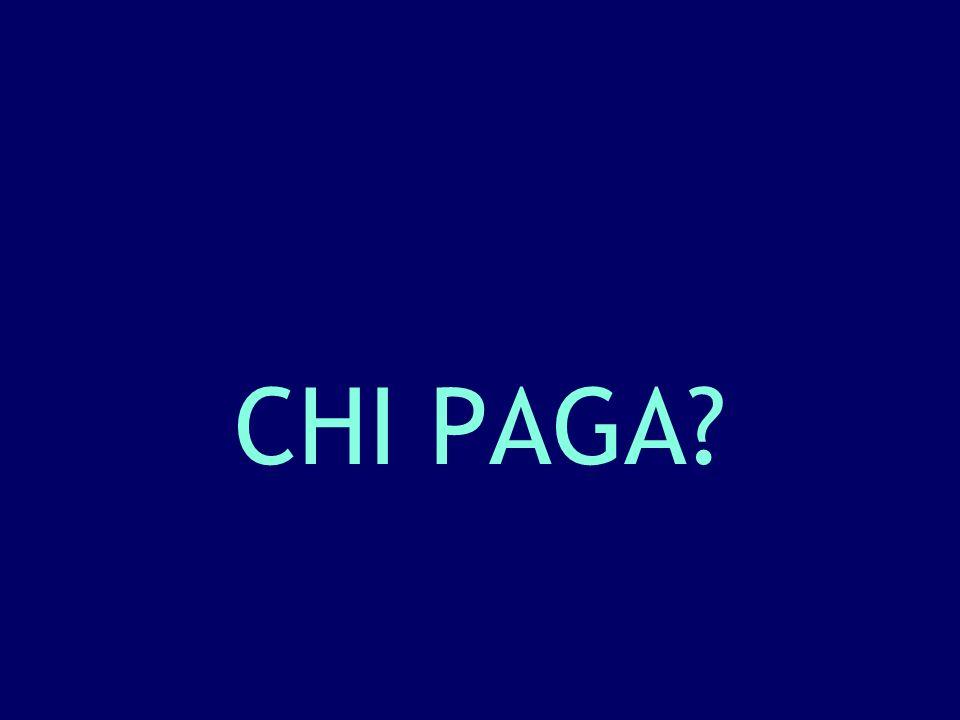 CHI PAGA?