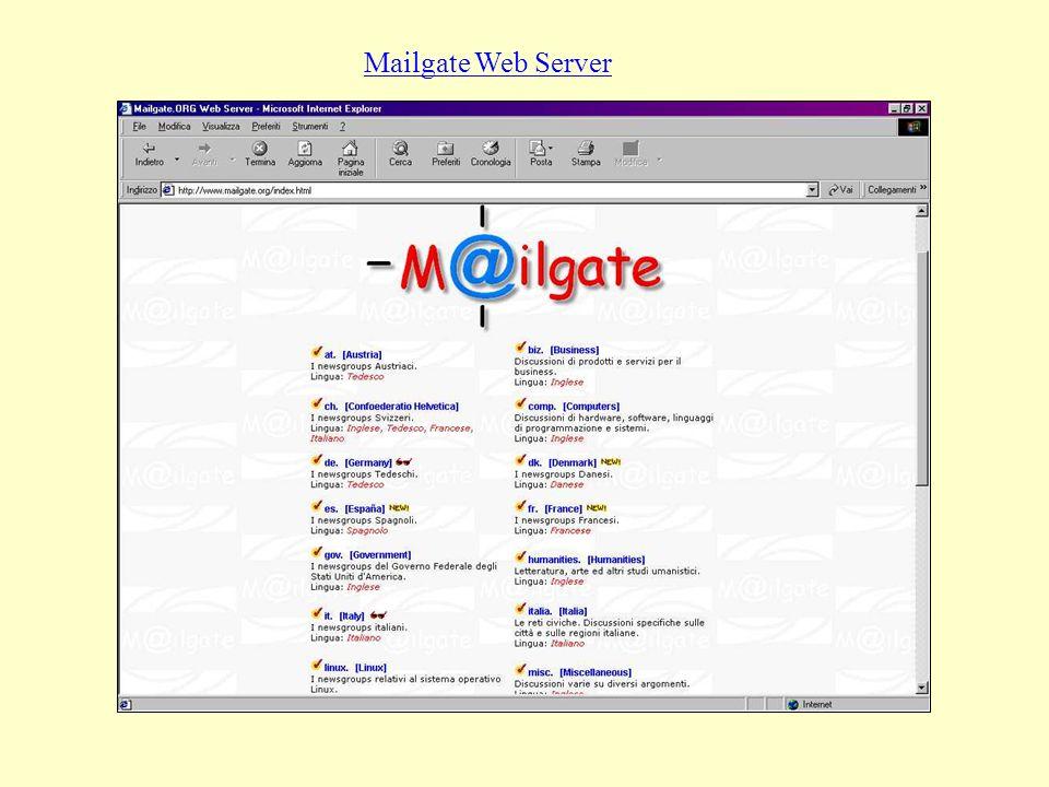 Mailgate Web Server