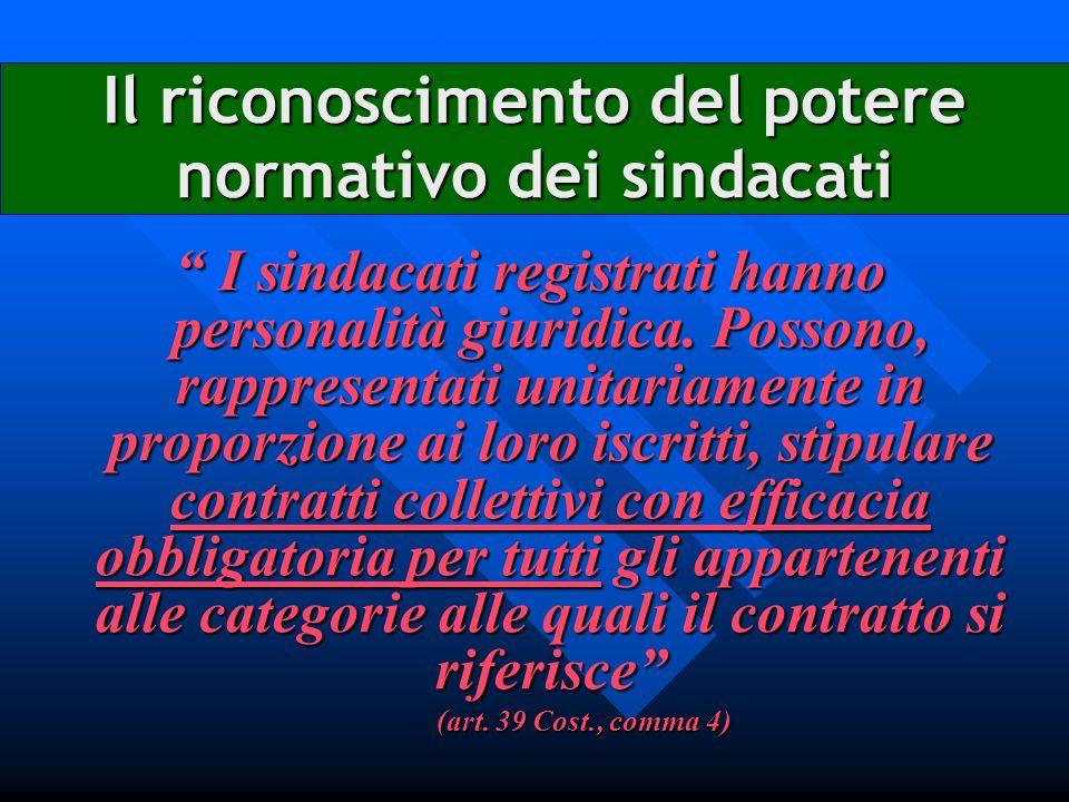Il rinvio della legge alla contrattazione collettiva realizza un modello di integrazione funzionale tra le due fonti devoluzione di potere normativo alle parti sociali