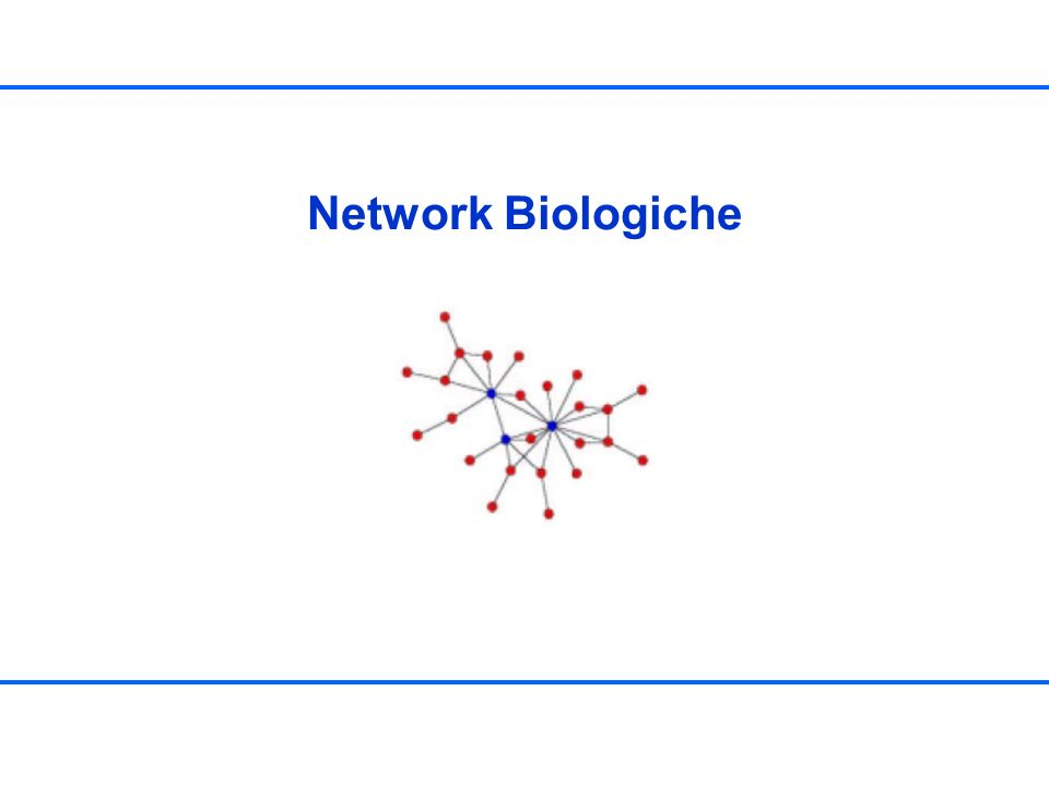 Topologie Sono presenti due diverse topologie: –Community-type ordering (fig.