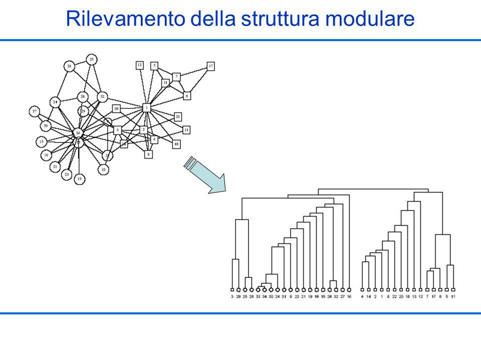 Rilevamento della struttura modulare