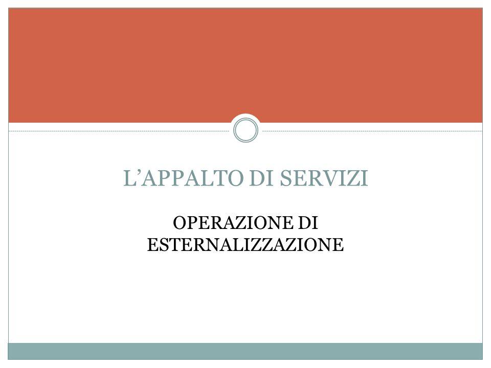Gli APPALTI E IL TRASFERIMENTO DAZIENDA Anno accademico (2007-200 8 )