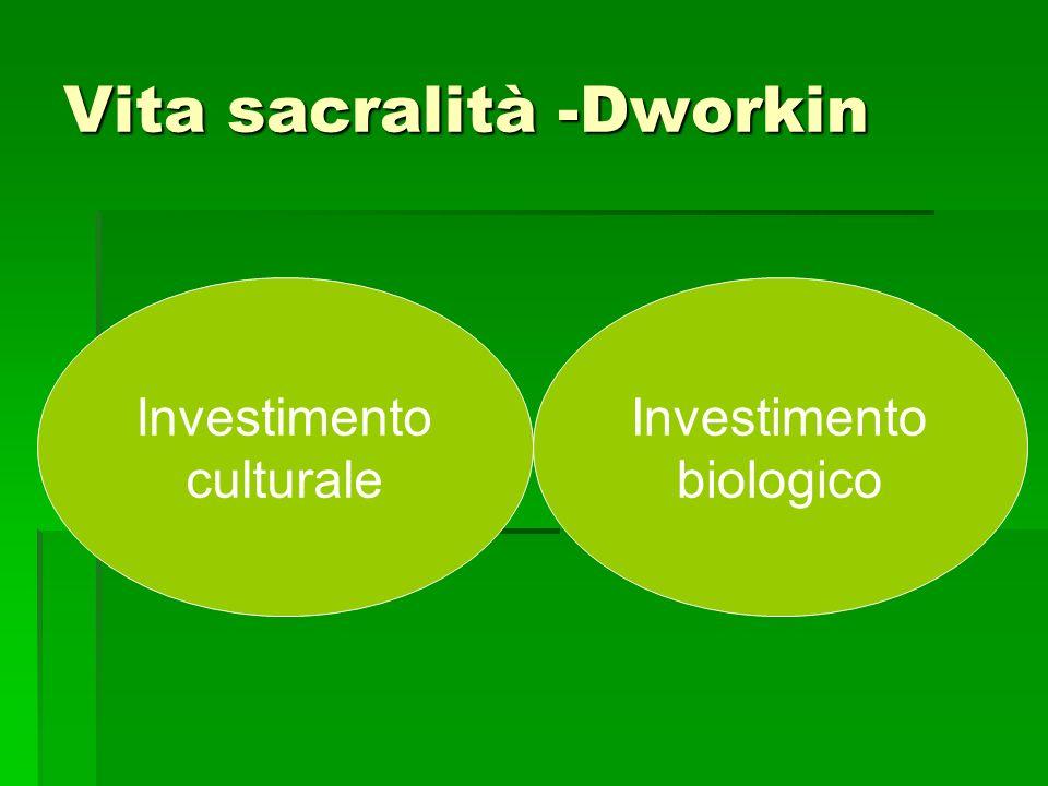 Religiosa Investimento culturale Investimento biologico