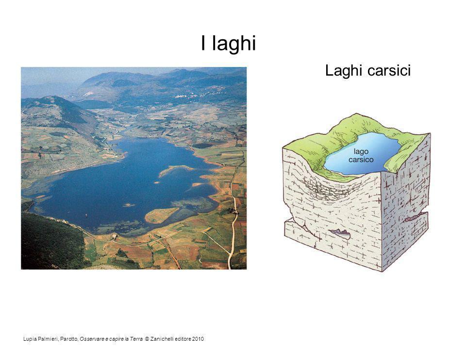 Lupia Palmieri, Parotto, Osservare e capire la Terra © Zanichelli editore 2010 I laghi Laghi carsici