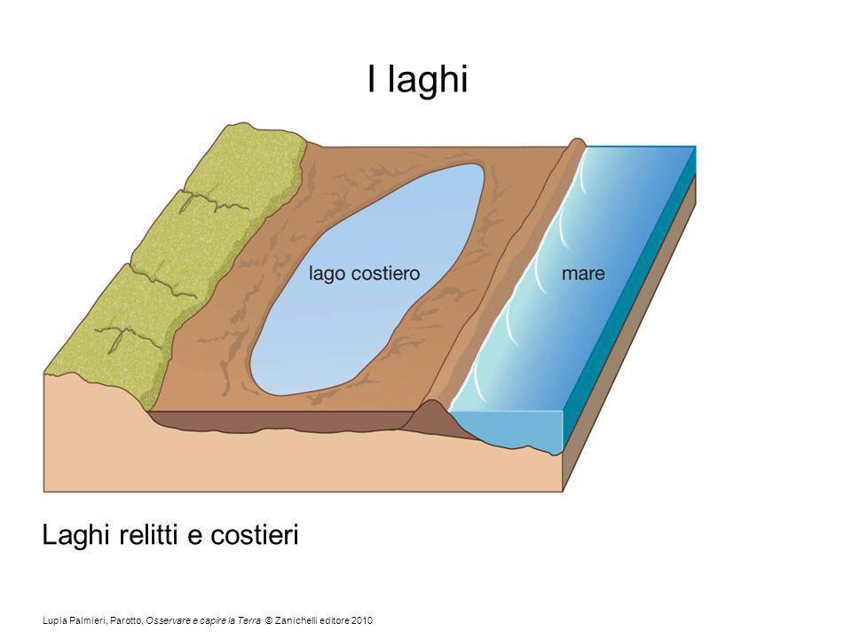 Lupia Palmieri, Parotto, Osservare e capire la Terra © Zanichelli editore 2010 I laghi Laghi relitti e costieri