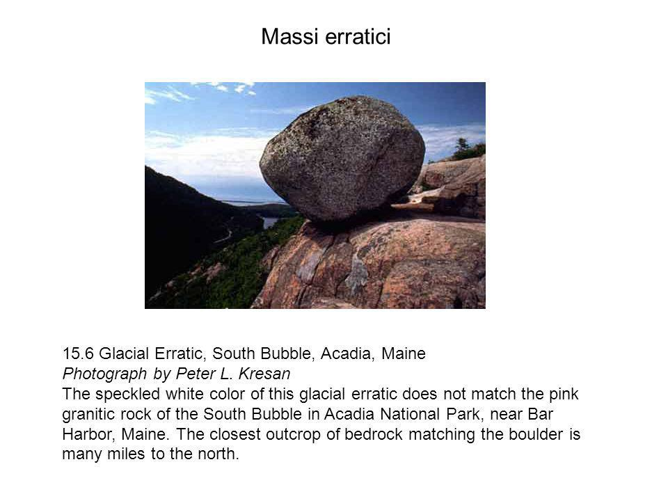 15.6 Glacial Erratic, South Bubble, Acadia, Maine Photograph by Peter L.