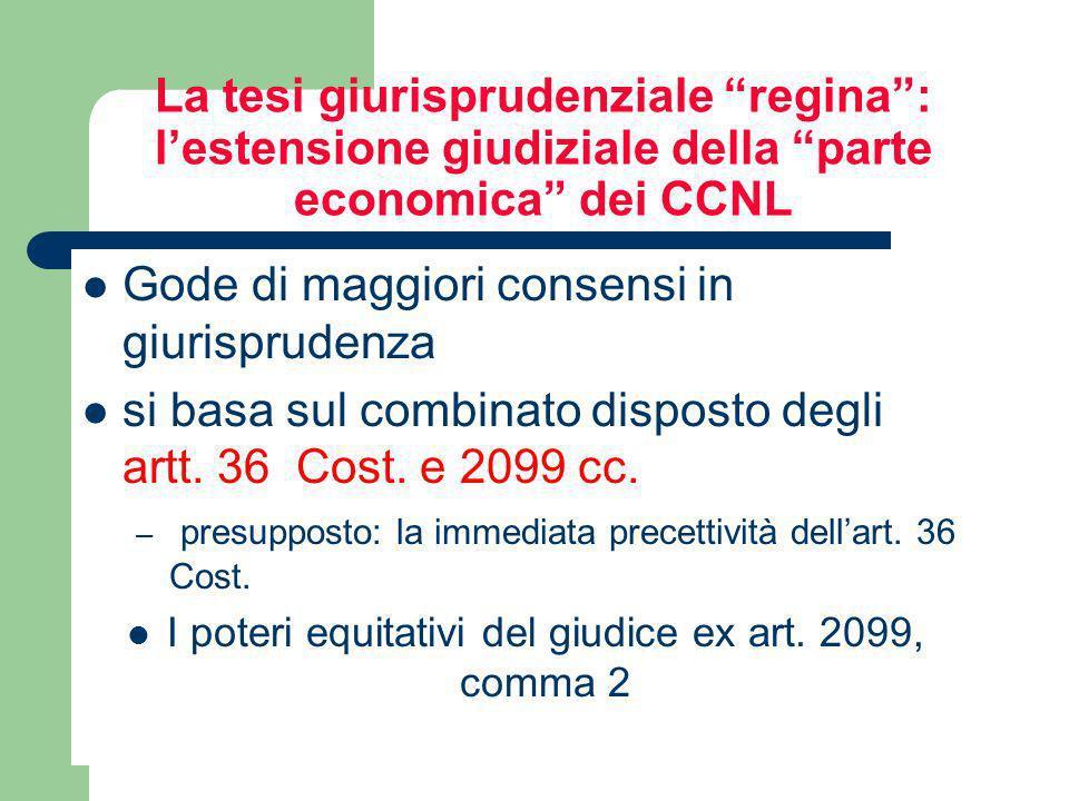 Lefficacia erga omnes della contrattazione collettiva delegata nella elaborazione dottrinale Il rinvio legale alla contrattazione collettiva (nazional