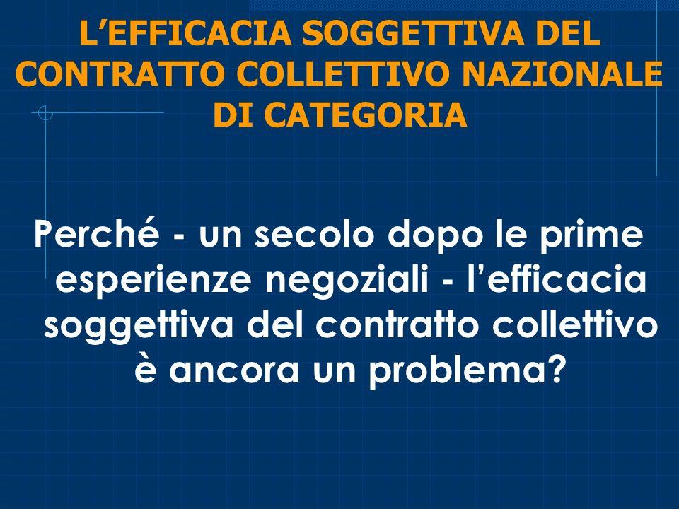 l problema della c.d.efficacia erga omnes e i tentativi di risolverlo I l problema della c.d.