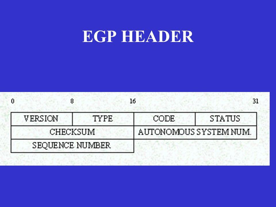 EGP HEADER