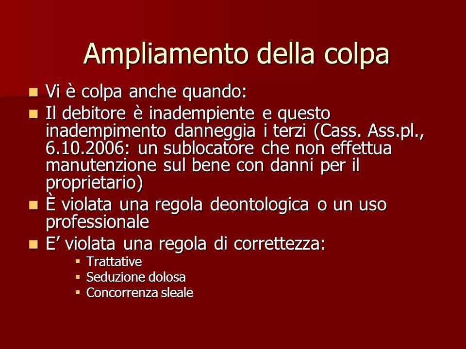 Compensatio Il danno per lassistenza da parte di terze persone non può essere ridotto in caso di assistenza familiare (Cass.